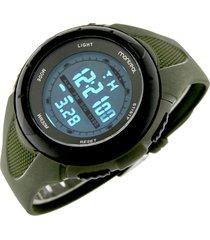 reloj verde montreal multifunción