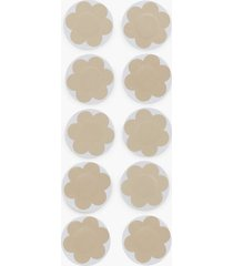 nly lingerie 10-pack flower nipple covers multifunktions bh beige