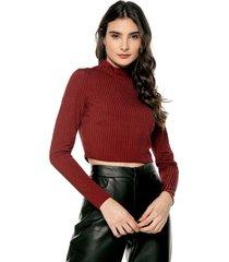 blusa vinotinto glamorous