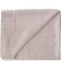 sand cashmere silk and paillette scarf
