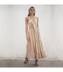 falda amalia caqui
