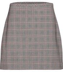 washable wool-blend mini skirt knälång kjol rosa banana republic