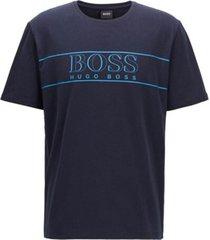 hugo boss pyjama t-shirt - donkerblauw