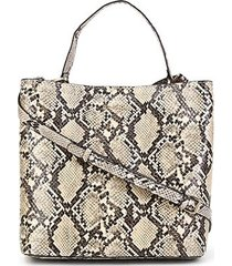 bolsa dumond shopper soft snake artsy media feminina