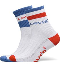 levis unisex sport stripe short cut underwear socks regular socks vit levi´s