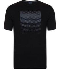 camiseta estampada preto maya - kanui