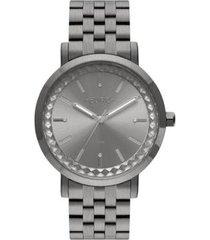 relógio euro minimal spike eu2036yos/4f 42mm aço feminino - feminino