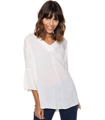 blusa natural etam lurex