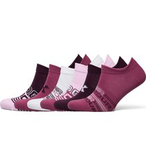 ua women's essential ns lingerie socks footies/ankle socks rosa under armour