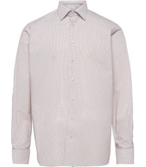 contemporary fit business casual fine twill shirt overhemd business multi/patroon eton