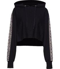 jumper hoodie trui zwart replay