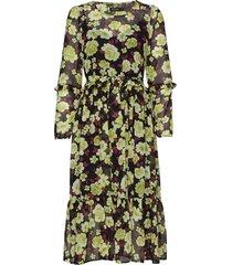 sl carlie dress knälång klänning grön soaked in luxury