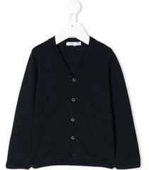 knot basic cardigan - blue