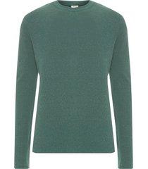 sweater masculino tricot canelado e-fabrics - verde