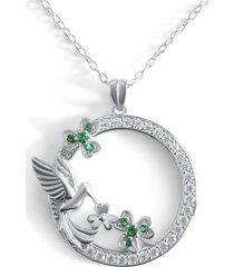 collar colibri casual plata arany joyas