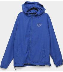 jaqueta corta vento diamond brilliant windbreaker masculina