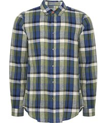 ps by paul smith classic-fit navy check patch-pocket shirt puxd-815r-645-48