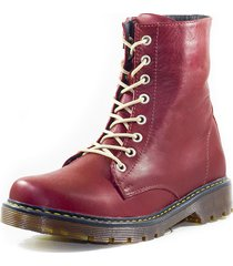 botas  rojo m&m 3110r