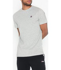 fila seamus tee ss t-shirts & linnen light grey melange