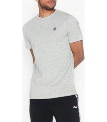 fila seamus tee ss t-shirts & linnen light grey melange