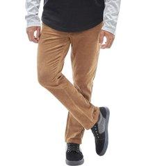 pantalon de cotele marron corona