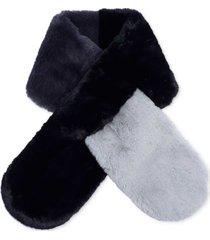 echo faux fur scarf