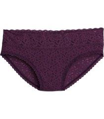 calzon bikini encaje morado gap