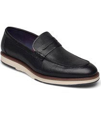casual loafer loafers låga skor svart tga by ahler