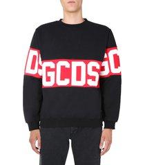 gcds crew neck sweatshirt