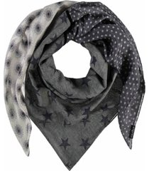 fraas retro patchwork scarf