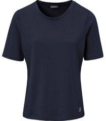 shirt van basler blauw