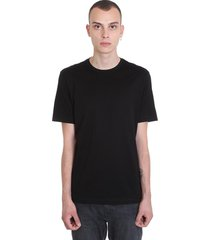 z zegna t-shirt in black cotton