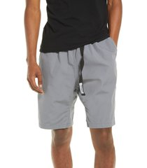 carhartt work in progress clover shorts, size small in air force grey at nordstrom
