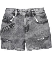 versace jeans denim shorts