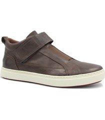 sapatênis zariff shoes em couro masculino - masculino