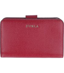 furla babylon leather wallet