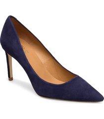 14440 pumps shoes heels bridal classic blå billi bi