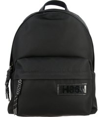 hogan backpack hogan nylon backpack with logo