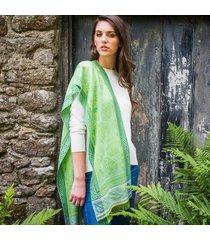 lime green hourihan scarf