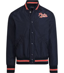 lined baseball jacket