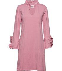 jenny jurk knielengte roze line of oslo