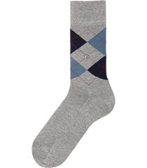 burlington manchester grey argyle socks 20182 3619