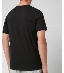 calvin klein men's crew neck t-shirt - black - m