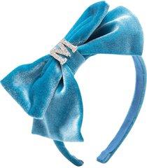 monnalisa girl light blue headband