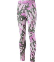 calza rosa puma style leggings g 85183646