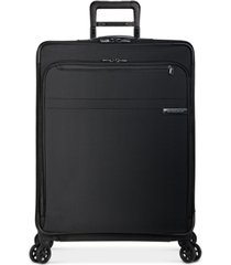 "briggs & riley baseline 28"" softside check-in spinner"