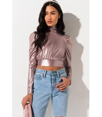 akira u fancy long sleeve blouse