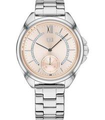 reloj tommy hilfiger 1781987 plateado -superbrands