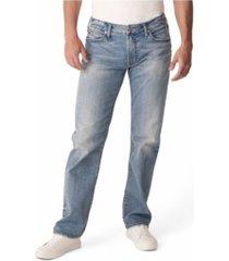 silver jeans co. men's allan classic fit straight leg jean