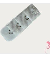 op en top zwanger beha verlenger 1 haaks wit (per stuk)